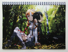 Wall Calendar 2017 (12 pages A4) SWORD ART ONLINE Anime Manga Japan Girl A-718