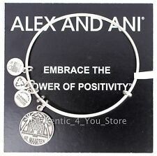 NEW ALEX AND ANI St. Maarten Exclusive SILVER Charm Bangle Bracelet