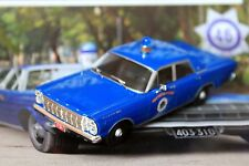 1:43 Ford Galaxie 500 Westwood Massachus Police cars + Magazine #46