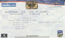 Bulls v Chiefs - Super 14 Final 30 May 2009 Loftus Versfeld RUGBY TICKET