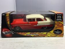 2003 Mattel Hot Wheels Modified Diecast '55 Pro Street Chevy Car 1:18 scale -MIB
