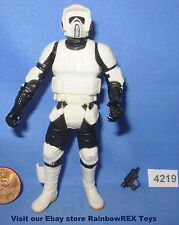 Star Wars 2000 SCOUT TROOPER Imperial Patrol Clean Armor 3.75  Figure COMPLETE
