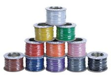 Model Railway Layout/Point Motor Wire - Any 4 x 100m Rolls Deal 7/0.2mm 1.4A T48