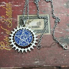 Anime Black Butler Contract Symbol Metal Pendant Necklace Chains Loose Pack