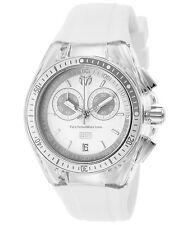 TechnoMarine TM-115336 Women's Cruise Sport Chronograph White Silicone & Dial