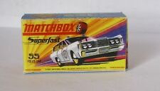 Repro Box Matchbox Superfast Nr.55 Mercury Police Car