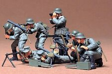 Tamiya America [TAM] 1:35 German Machine Gun Troops Plastic Model Kit TAM35038