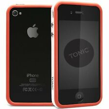 Cygnett Tonic iPhone 4S / 4 Sports Flexible Frame Bumper Case/Cover/Skin Red