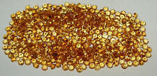 3mm Beautiful Color Brazil Gold Citrine Brilliant Round Cut - 2 STONES