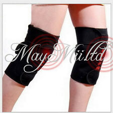 Tourmaline self heating Magnetic knee Brace Support Strap Pain protector G
