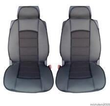 Premium 2x Sitzbezüge Schonbezüge schwarz-schwarz für VW SEAT CITROEN FIAT