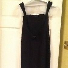 Ladies Teenflo Maurice Tarica Little Black Dress Size 1