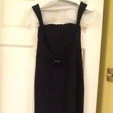 Ladies Teenflo Maurice Tarica Little Black Dress Size 1