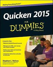 Quicken 2015 for Dummies by Stephen L. Nelson (2014, Paperback)