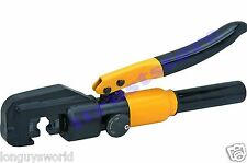 HYDRAULIC HAND DIE ELECTRIC ELECTRICAL WIRE CRIMPING TERMINAL CRIMPER CRIMP TOOL