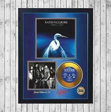 FAITH NO MORE ANGEL DUST CUADRO CON GOLD O PLATINUM CD EDICION LIMITADA. FRAMED