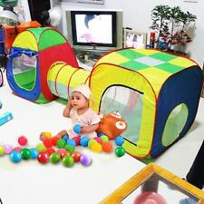 Popular Gift Toy 3 In 1 Indoor Kids Play Tent Play Balls Pit House Tents Tunnel