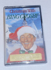 Christmas with Bing Crosby (1989, Cassette Tape) Holiday Music Portugal Stereo