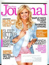 Ladies' Home Journal Magazine July August 2014 Miranda Lambert EX 040816jhe