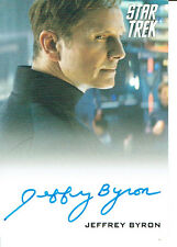 STAR TREK MOVIES 2014 AUTOGRAPH CARD JEFFREY BYRON AS TEST ADMINISTRATOR