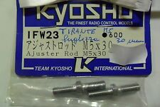 KYOSHO TIRANTE M5 LUNGHEZZA 30 MM ADJUSTER ROD M5 LENGTH 30 MM  ART IFW23