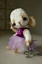 Sewing Kit For 8 Inch Lamb Incl. Ready made Dress