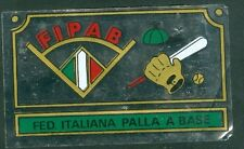Scudetto Campioni dello Sport Panini 1967-68 Fed. It. Palla a Base Ottimo Rec