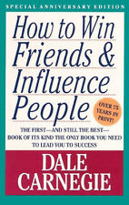 How to Win Friends and Influence People -  Dale Carnegie - ship worldwide also