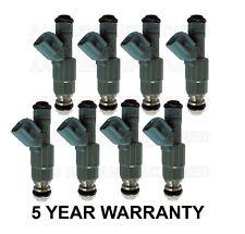 * 5 YEAR WARRANTY * Genuine Bosch Set of 8 Fuel Injectors for MerCruiser 300HP