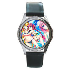 To Love-Ru  boys girls mens womens cosplay leather wrist watch