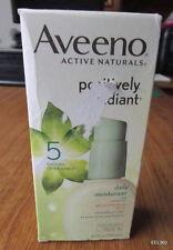 Aveeno POSITIVELY RADIANT daily moisturizer 4.0 FL OZ SPF15 **NEW**