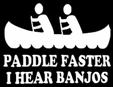 PADDLE FASTER DECAL STICKER 14 COLORS CAR FORD CHEVY DODGE HONDA MAZDA JDM EURO