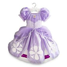 Disney Store Sofia the First Costume Dress Kids Purple $45 Size 7/8 D57 NWT