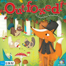Outfoxed! Board Game by Gamewright - Brand New / Sealed
