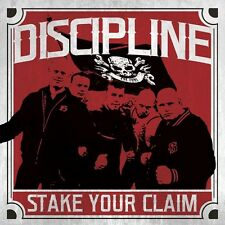 DISCIPLINE - STAKE YOUR CLAIM   CD NEU