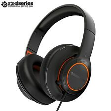 SteelSeries Siberia 100 Lightweight Over-Ear Gaming Headset with Microphone DF