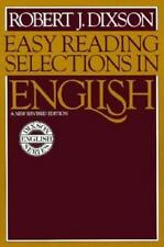 Dixson English: Easy Reading Selections in English by Robert James Dixson...