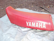 1987 YZ490 Yamaha Seat Red CEET cover complete and ready to go 87 YZ 490