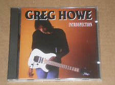GREG HOWE - INTROSPECTION - CD