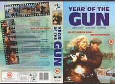 Year Of The Gun, Sharon Stone VHS Video Promo Sample Sleeve/Cover #8967
