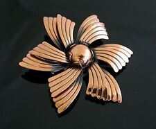 Bell Trading Copper Flower Blossom Pin Brooch VINTAGE Southwestern  Floral