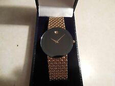 Top Of The Line Solid 18k Mens Movado Classic Watch