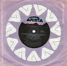 WHITNEY HOUSTON I Wanna Dance With Somebody (Who Loves Me) / Moment Of Truth 45