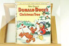 Vintage Walt Disney's Donald Duck's Christmas Tree - Little Golden Book - 1950's