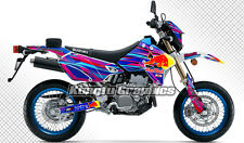 Suzuki DRZ400 SM Enduro Racing Complete Bike Wrap Set Custom Kungfu Graphics Kit