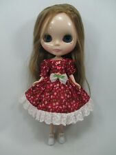 Costume outfit handcrafted dress for Blythe Basaak doll 44-17
