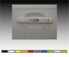 FORD ST220 Premium Door Handle Decals Stickers X2