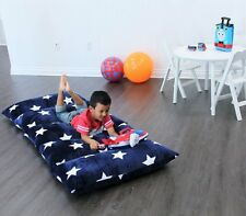 Heart to Heart Kids Floor Lounger Queen  Plush Fabric Seats and Pillow Cover -
