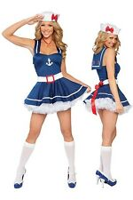 Sexy Hot Attractive Sailor Costume Dress Up Party OS 8-12