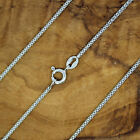 92.5% solid Sterling Silver Popcorn chain 2mm